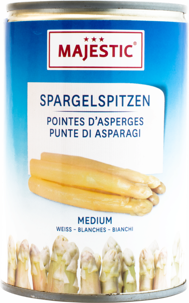 Majestic Asparagus tips white – medium (100006)