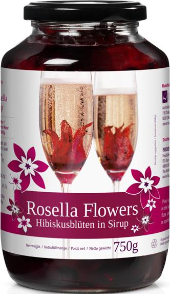 Rosella Flowers Hibiskusblüten – 40 Stück (102143)