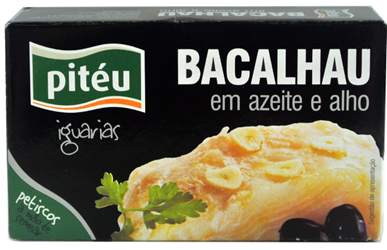 Pitéu Bacalau – cod with olive oil (102680)