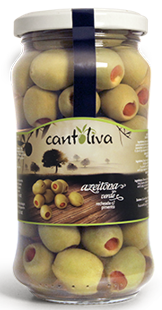 Cantoliva Olives stuffed with piment (102684)