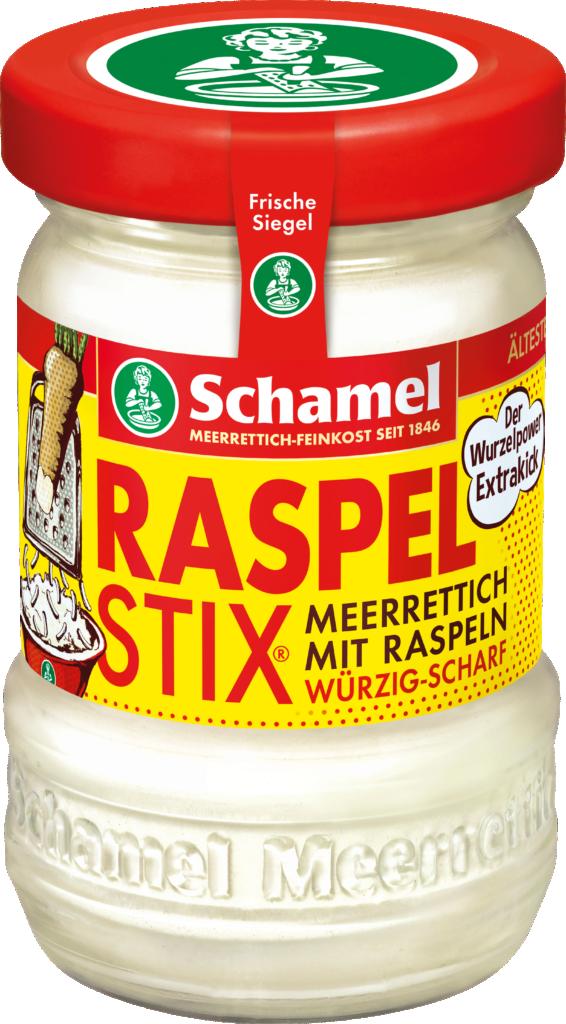 Schamel Raspelstix® – horseradish raw grated (102792)