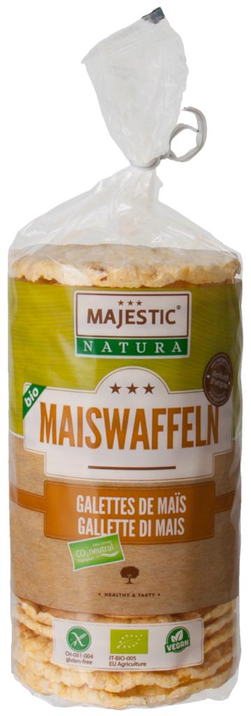 Majestic Natura BIO Maiswaffeln (110082)
