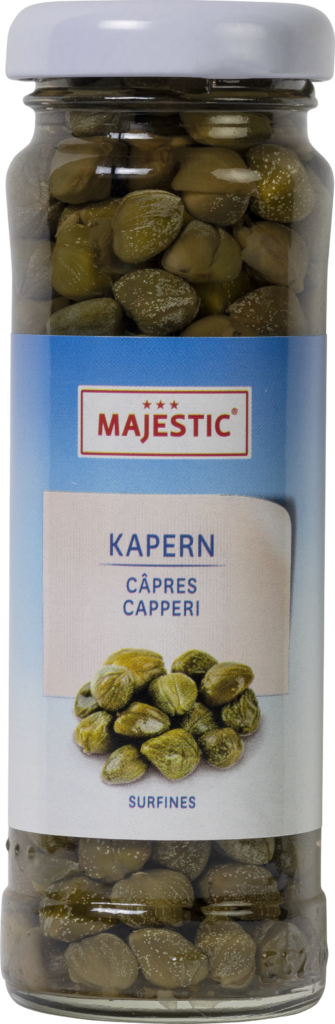Majestic Capers small in wine vinegar (110137)