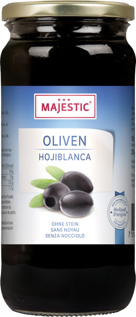 Majestic Olives black – pitted (110141)