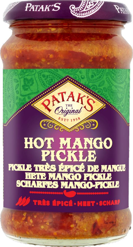 Patak's Mango pickle hot (110743)