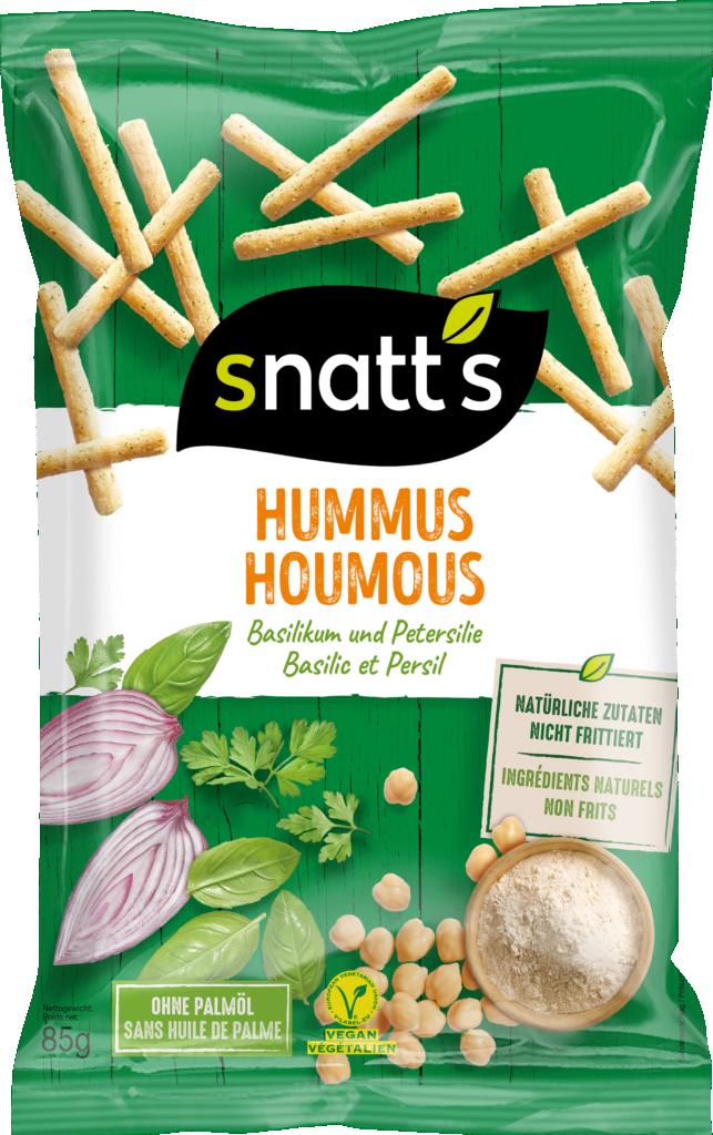 Snatt's Hummus Sticks – Basil & Parsley (110753)