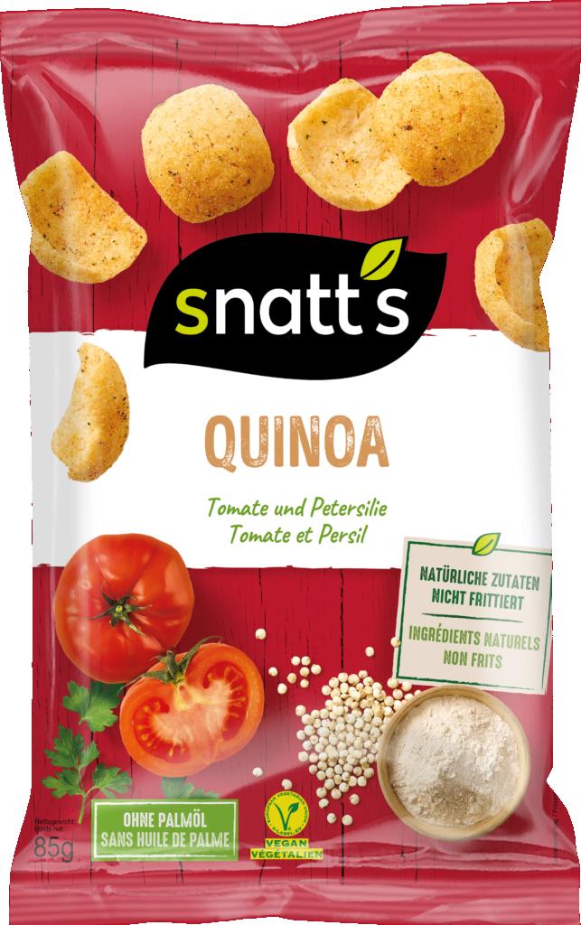 Snatt's Quinoa chips – Tomato & Parsley (110754)