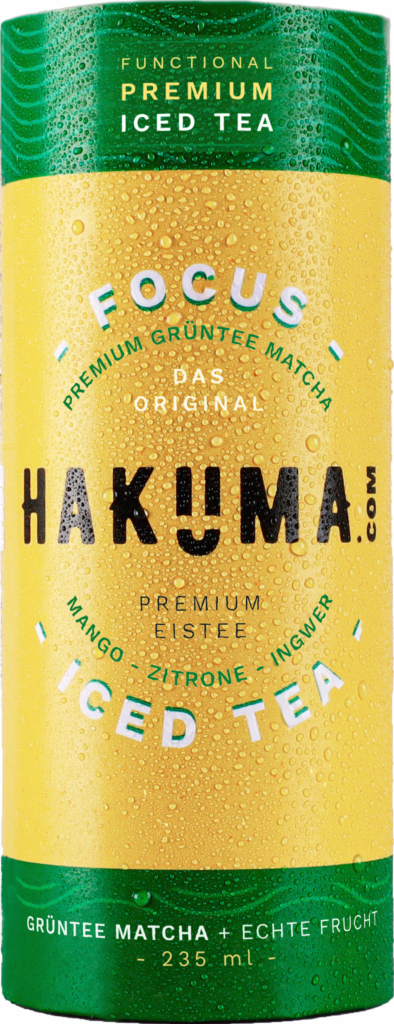 Hakuma Focus – Premium iced tea (green tea) (111311)