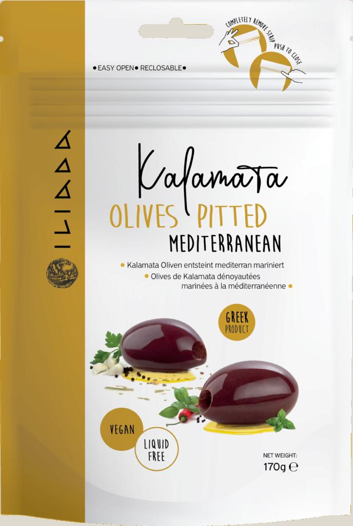 Iliada Kalamata olives pitted marinated mediterranean (113318)
