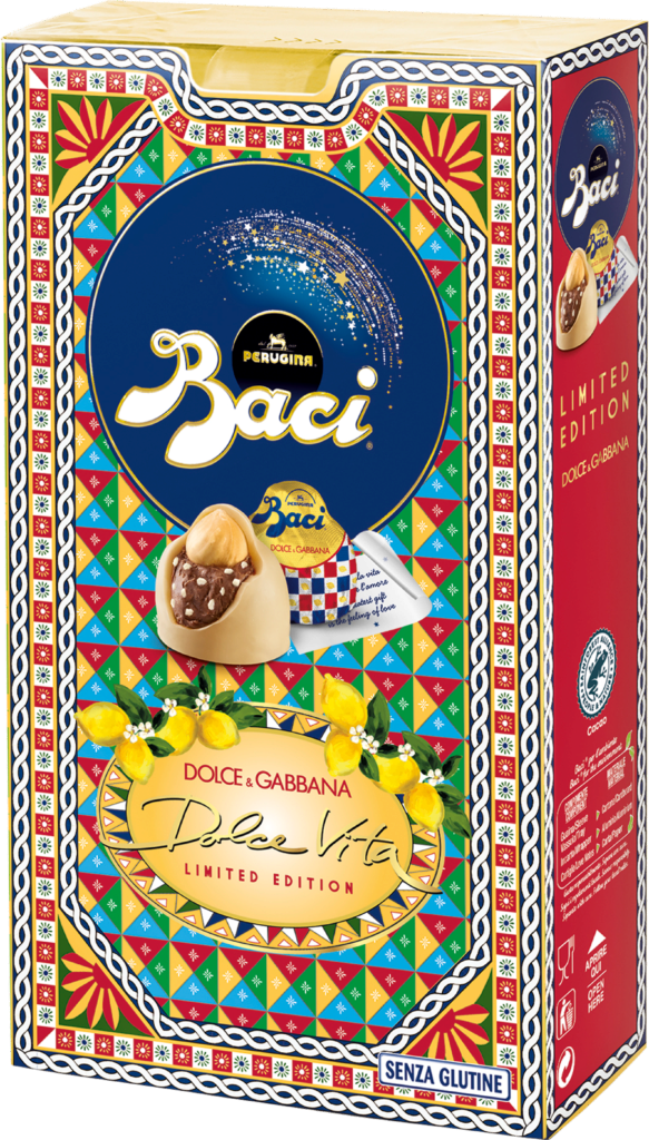 Baci Perugina Bijou Box 12 Stück – Zitrone – Dolce & Gabbana (113381)