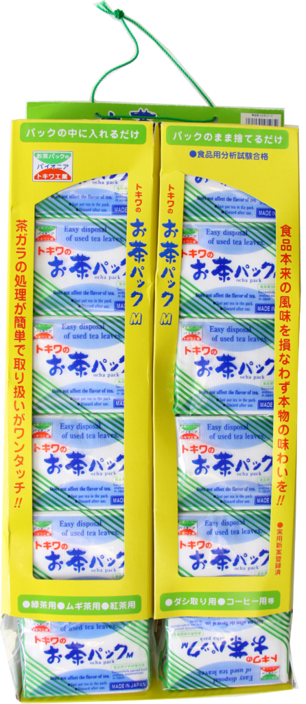 Tokiwa Tea bags empty – 60 pcs/pack (229910)