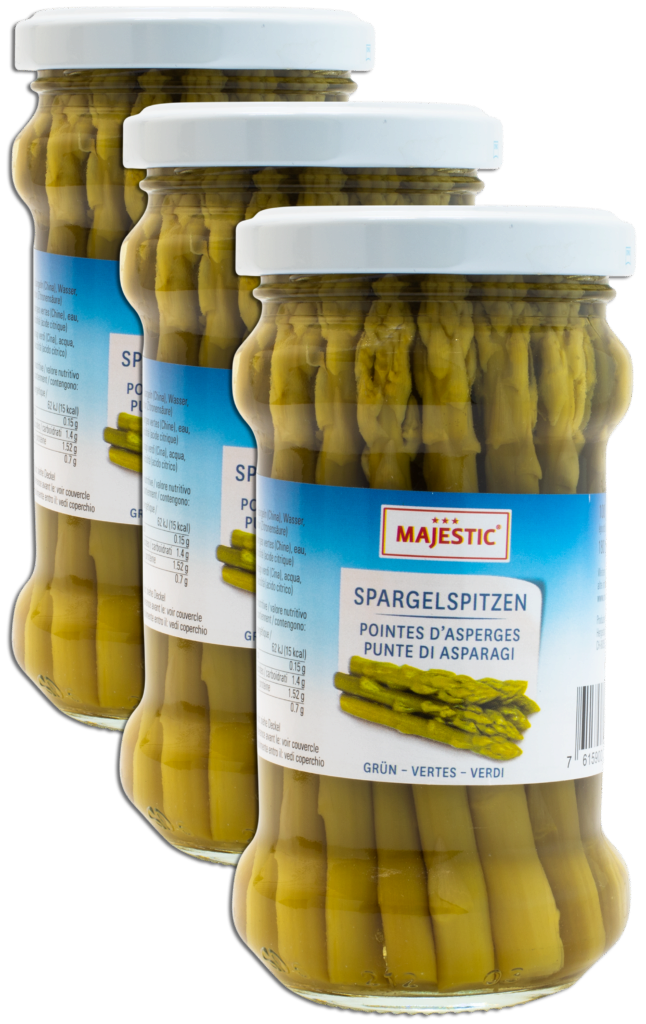 Majestic Asparagus tips green (61026)
