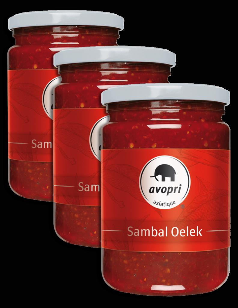 Avopri Sambal Oelek – chili paste (64322)