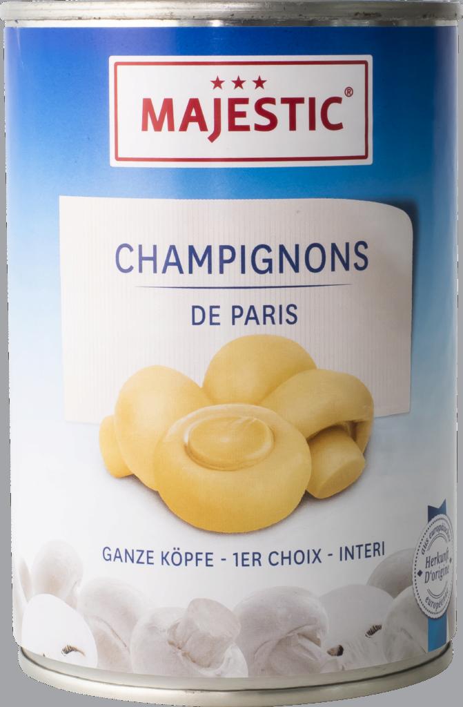 Majestic Champignons whole (9010)