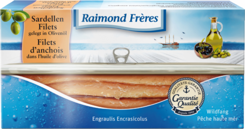 Raimond Frères Anchovy in olive oil (100336)