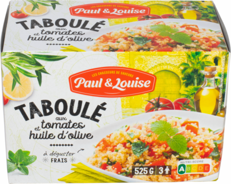 Paul & Louise Taboulé with fresh tomatoes & olive oil (100387)