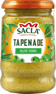 Saclà Tapenade from green olives (100734)