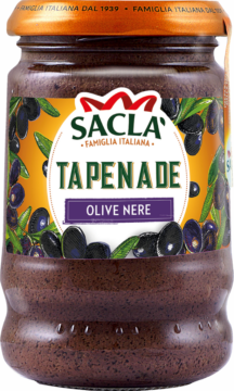 Saclà Tapenade from black olives (100735)