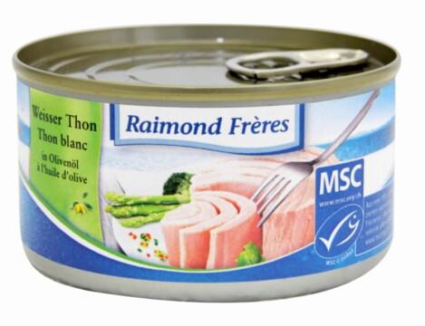 Raimond Frères MSC Thon blanc Albacore – huile d'olive (101105)