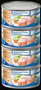 Raimond Frères Bright tuna (Tongol) in oil -4pce (101310)
