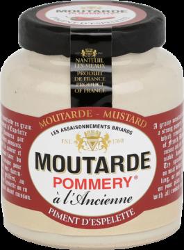 Pommery Mustard Piment d'Espelette (101805)