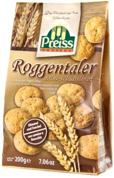 Preiss Roggentaler – Knusprige Roggen-Minis (101986)