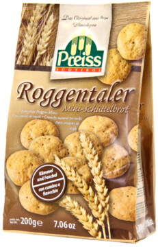 Preiss Crispy rye mini-breads (101986)