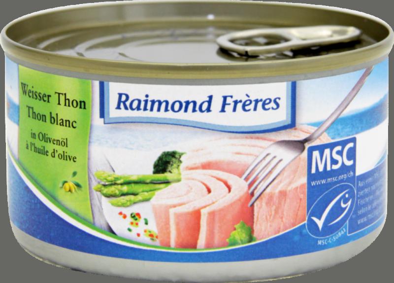 Raimond Frères MSC White tuna Albacore – oliveoil (102106)