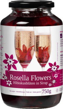 Rosella Flowers Hibiscus Flowers – 40 pieces (102143)