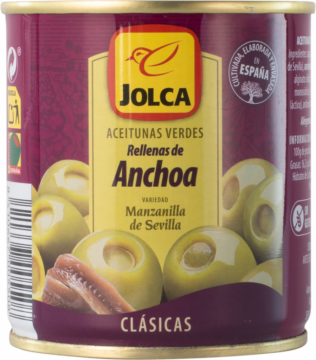 Jolca Olives with anchovy (102762)