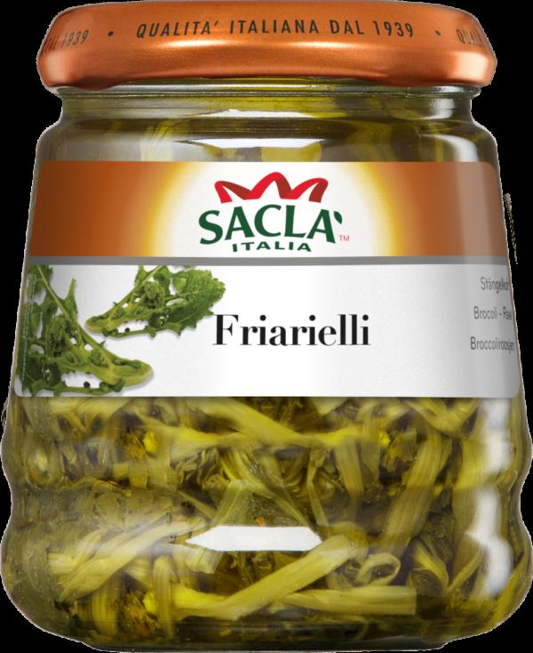 Saclà Friarielli (Stängelkohl in Sonnenblumenöl) (103190)