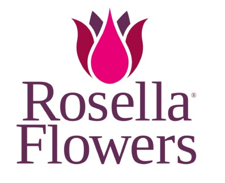 Rosella Flowers Logo