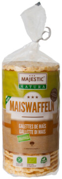 Majestic Natura ORGANIC corn cakes (110082)
