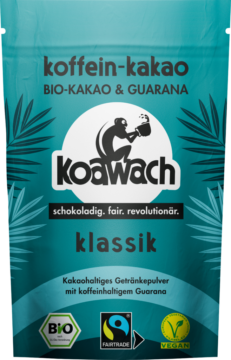 koawach Organic cocoa with Guarana, classic (110091)