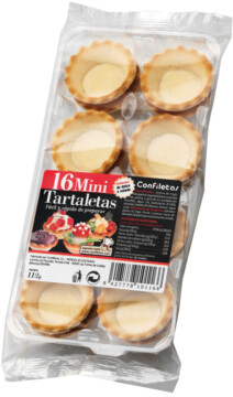 Confiletas Mini tartlets (110127)