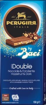 BACI Perugina Tafelschokolade Double Hazelnut & Dark (110335)