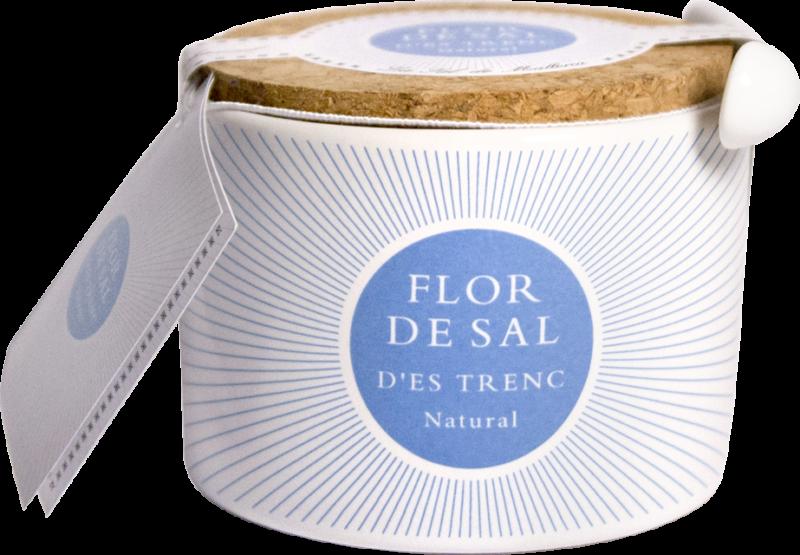 Flor de Sal d'Es Trenc Flor de Sal natural, pot (110418)