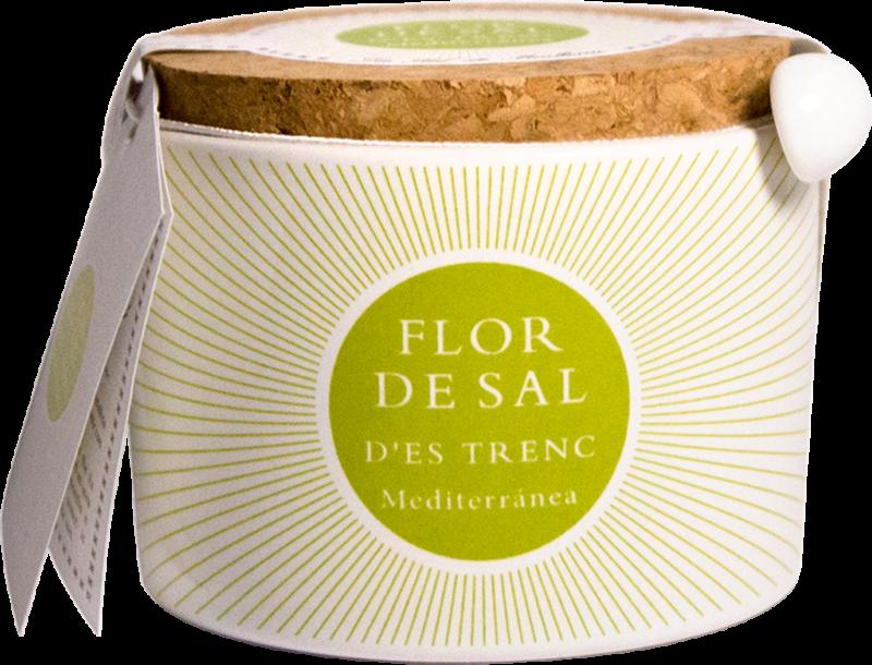 Flor de Sal d'Es Trenc Organic Flor de Sal mediterrean, pot (110419)
