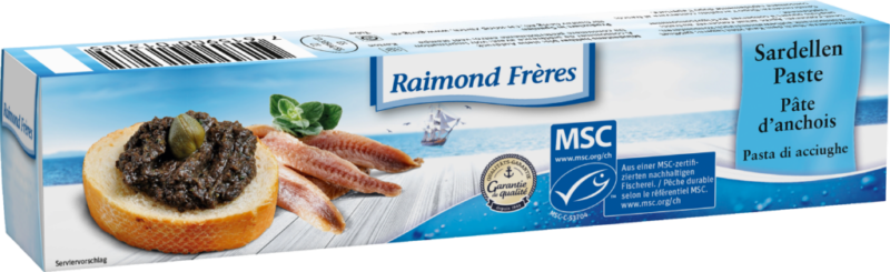 Raimond Frères MSC anchovy paste (110485)
