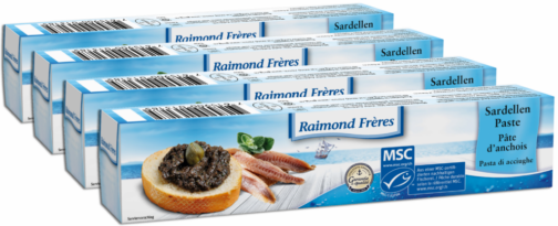 Raimond Frères MSC anchovy paste – 4 pc (110486)