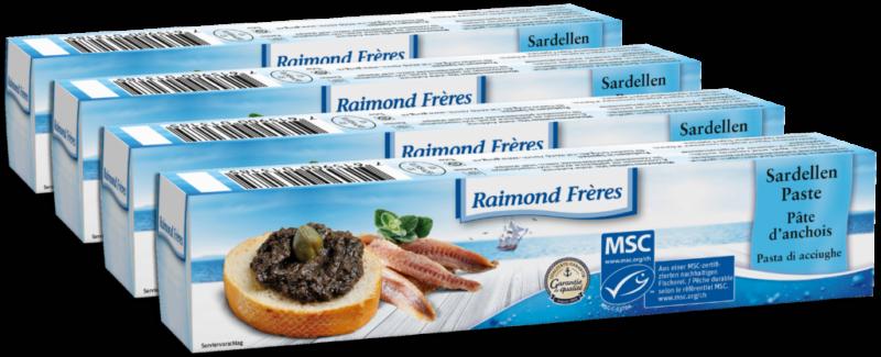 Raimond Frères MSC anchovy paste – 4 pc (110486)