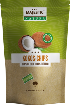 Majestic Natura Coconut Chips with skin (110530)