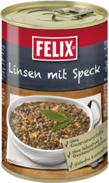 Felix Lentils with bacon (110670)