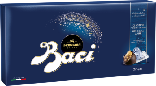 Baci Perugina Box 18 pieces – dark chocolate (110673)