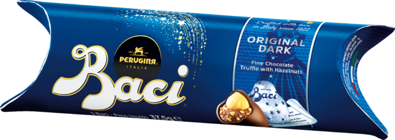 Baci Perugina Tube 3 pieces – dark chocolate (110677)