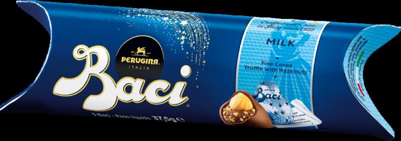 Baci Perugina Tube 3 pieces – milk chocolate (110678)