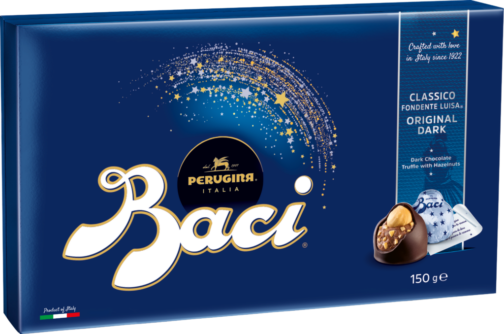 Baci Perugina Box 12 pieces – dark chocolate (110681)