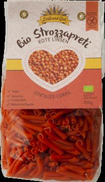 Leib und Gut Strozzapreti lentilles rouges BIO (110719)