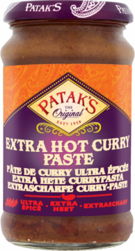 Patak's Curry paste hot (110739)