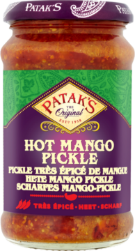 Patak's Mango pickle hot (110743)